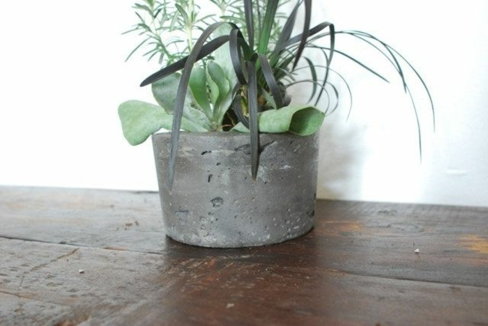 pflanzkübel-aus-beton-einfaches-schönes-modell