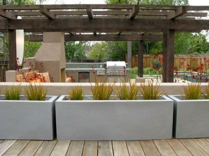 Pflanztroege aus beton kaufen und