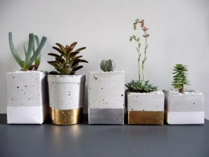 Moderne Blumentöpfe pflanzkübel aus beton 70 unikale bilder archzine