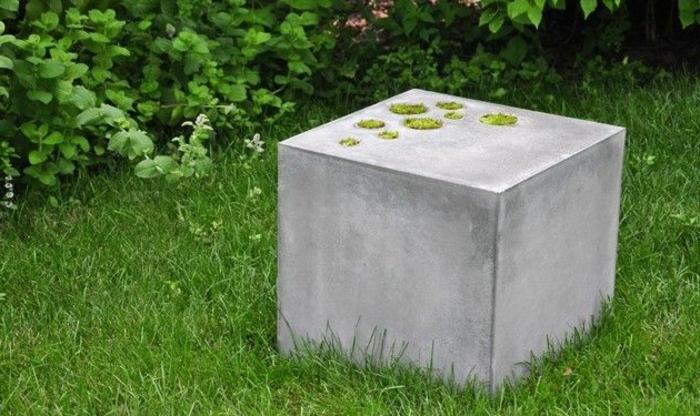 Betonwürfel Garten pflanzkübel aus beton 70 unikale bilder archzine