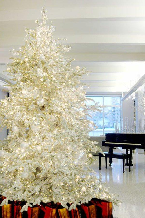 Weißer Tannenbaum Künstlich.Weisser Tannenbaum 60 Elegante Interpretationen Archzine Net
