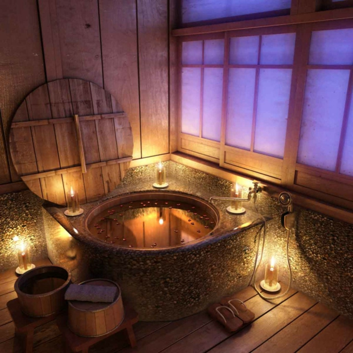 rustikale-Badezimmer-Idee-gemütlich-innovativ
