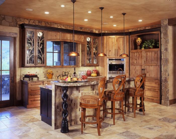 rustikale-Küche-modern-klassisch-Möbel-Landhausstil