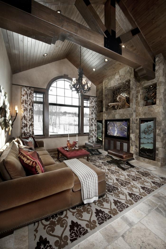 Rustikale Wohnzimmer Möbel: Entschleunigung Für Ihr Wohnzimmer Im ... Wohnzimmer Ideen Rustikal
