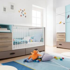 Der Kinderzimmer Schrank - unter den wichtigsten Möbeln im Raum