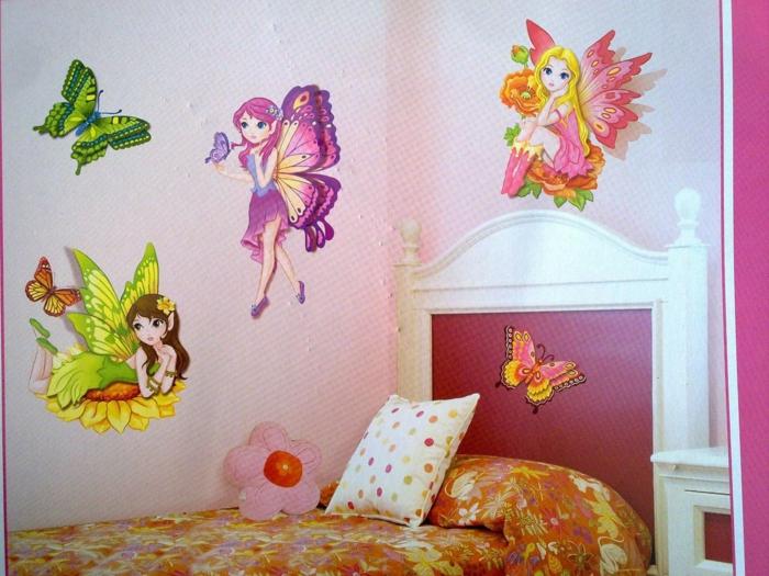 schmetterlinge-deko-schönes-mädchenzimmer