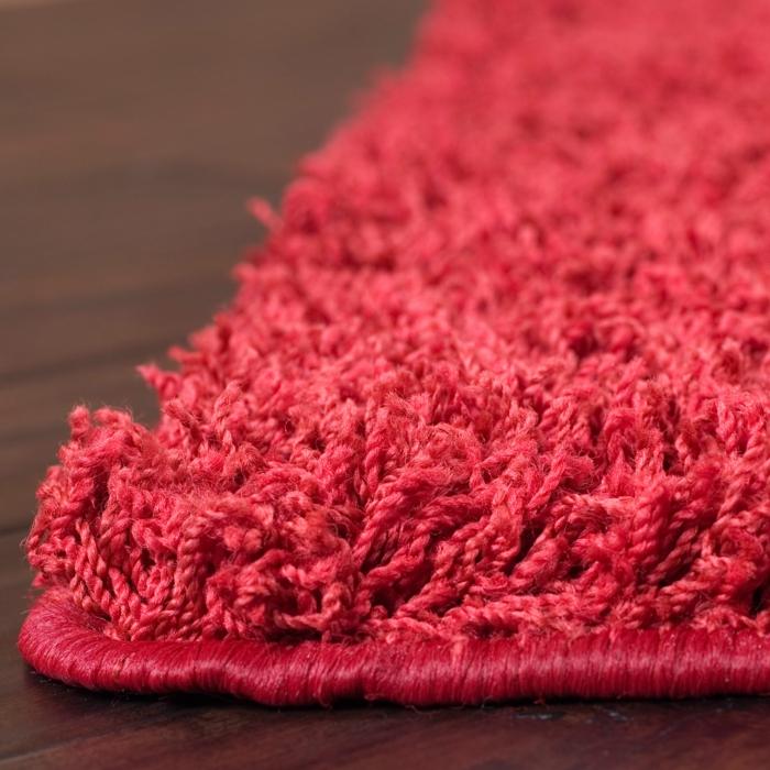 shaggy-teppich-rotes-elegante-gestaltung