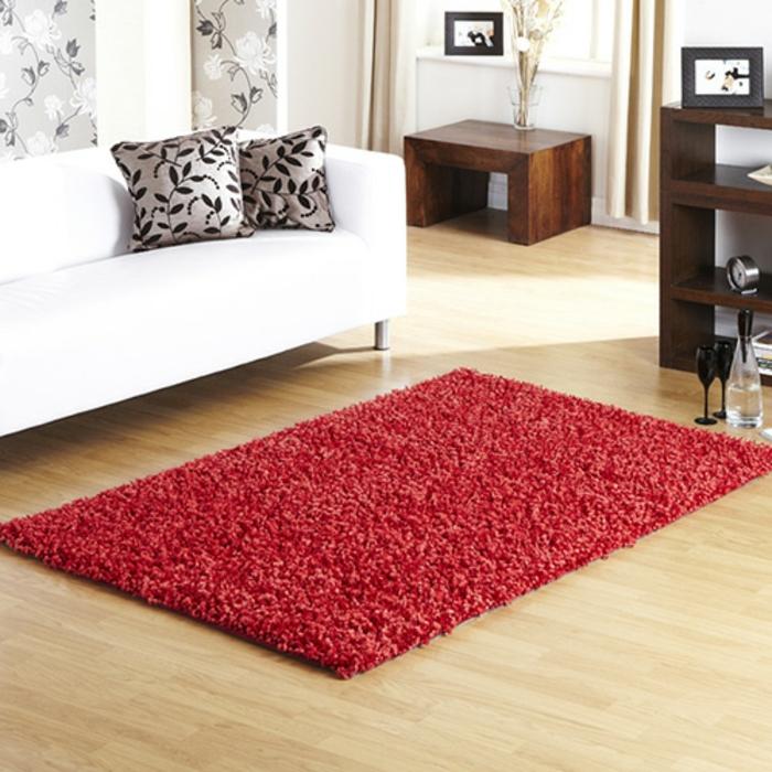 shaggy-teppich-wunderschönes-modell-weißes-design