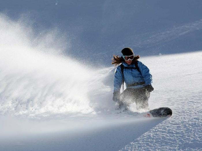 unikales snowboard wallpaper hd - geschwindigkeit