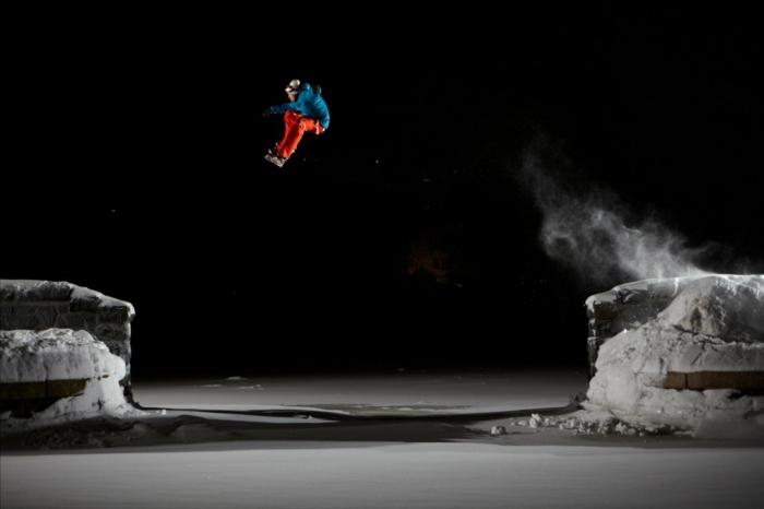 schwarzer himmel - snowboard wallpaper hd - super bild