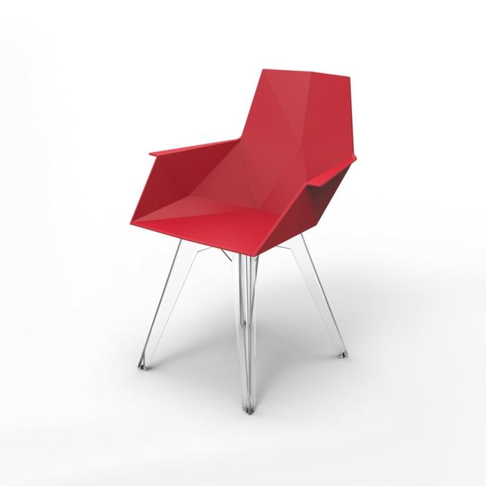 stühle-mit-ablehne-rotes-modernes-design