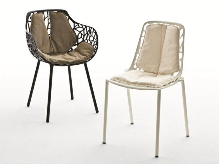 40 interessante modelle st hle mit ablehne. Black Bedroom Furniture Sets. Home Design Ideas