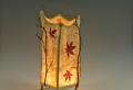 Stehlampe aus Papier für ein auffälliges Interieur!
