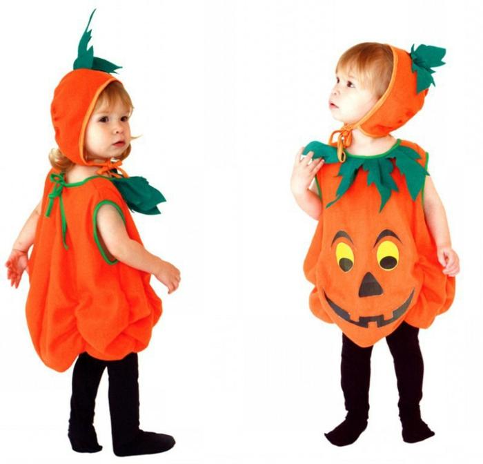 tolles-kürbis-zwei-sehr-süße-kleine-kinder