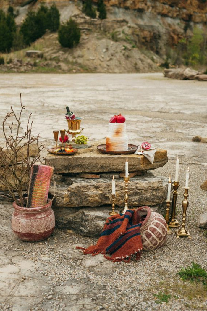 traditionelle-indische-Hochzeit-Strand-Dekoartikel-Boho-Stil