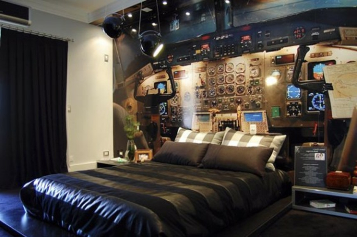 super verrückte wohnideen - unikales schlafzimmer