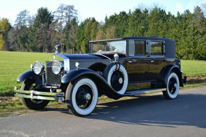 vintage-auto-1929 Rolls Royce Phantom 1 Springfield
