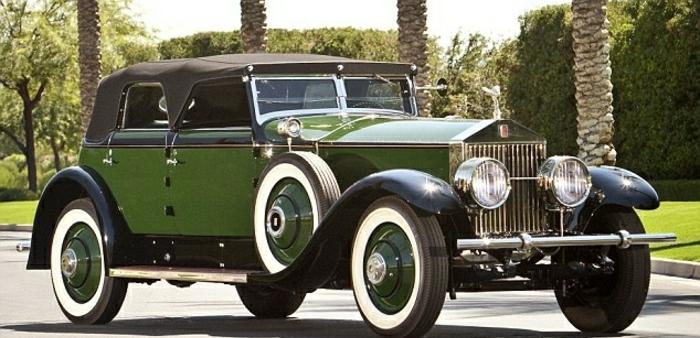 vintage-auto-rolls-royce-grün-und-schwarz-resized