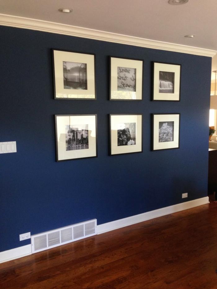 tolle wandgestaltung - farbgestaltung für wände - sechs bilder