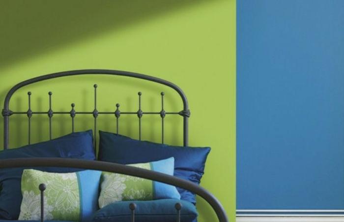 wandfarbe-blau-und-wandfarbe-grün-zusammenbringen