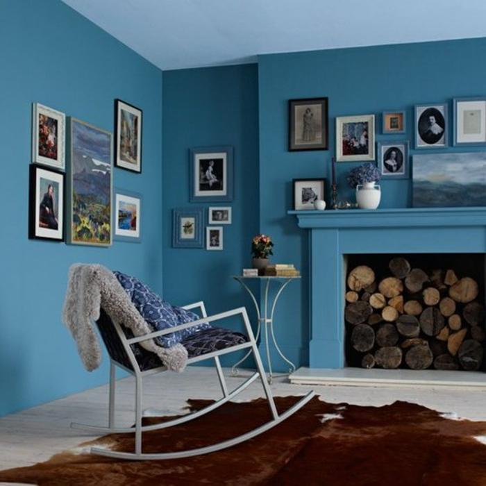 Farbkarte Wandfarbe Blau 2: Was Denken Sie über Die Wandfarbe Blau?