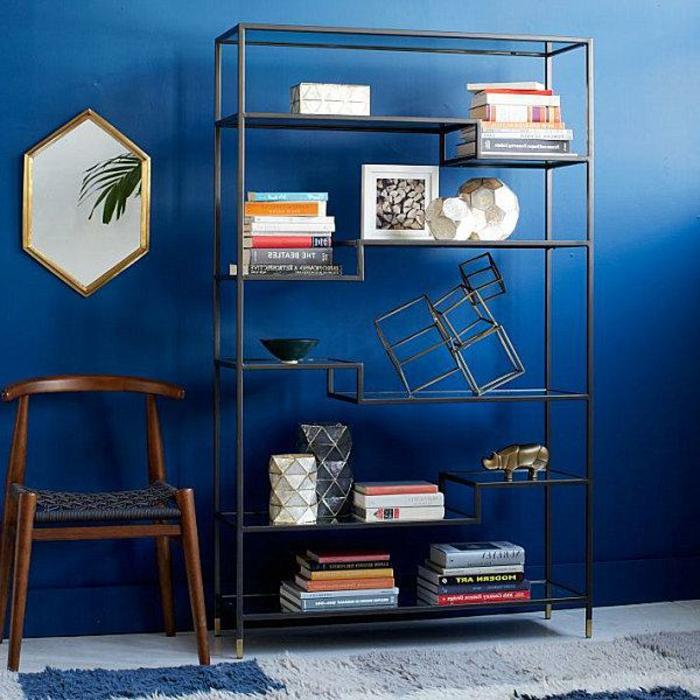 Was denken Sie über die Wandfarbe Blau? - Archzine.net