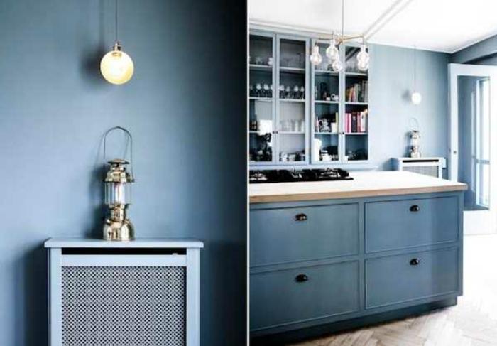wandfarbe-blau-zwei-interessante-fotos