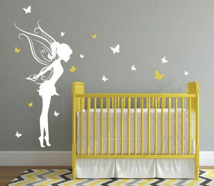 Kinderzimmer wandgestaltung feen  Wandtattoos für Kinderzimmer - eine Super Idee! - Archzine.net