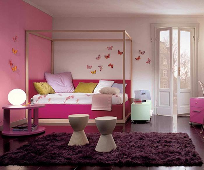 wanfarben-kombinationen-rosiges-modell-vom-schlafzimmer