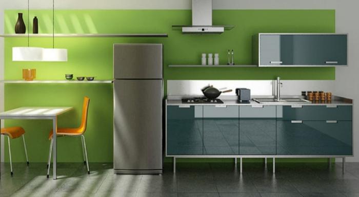 Ideen Fur Kuchen Wandfarben : wanfarbenkombinationensehrattraktivesdesignvonküche