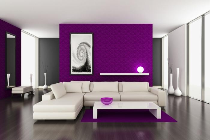 wanfarben-kombinationen-tolles-weißes-sofa