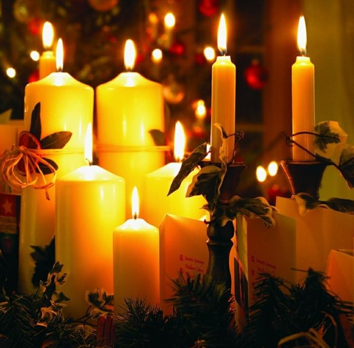 weihnachtsdeko-selber-machen-Kerzen-Komposition