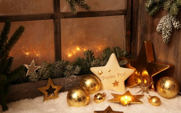 weihnachtsdeko-selber-machen-goldene-Sterne