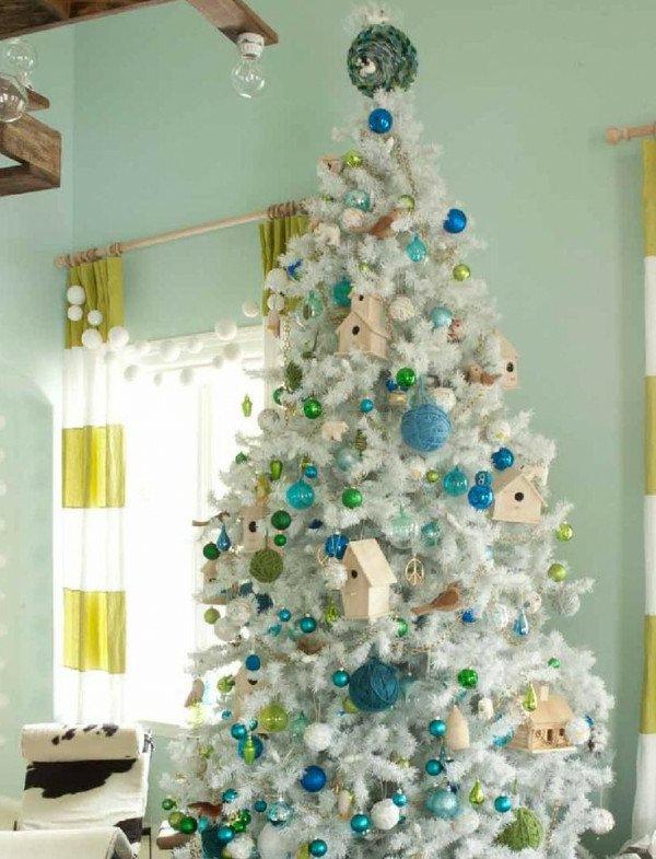 weisser-Tannenbaum-Spielzeug-weihnachtsbaum-künstlich