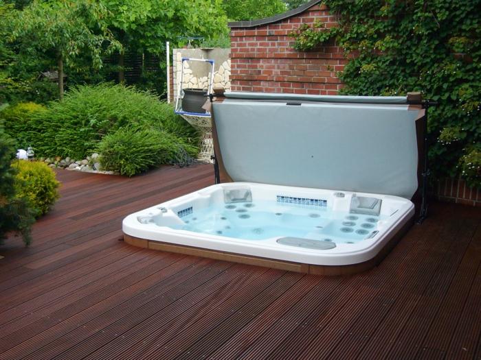 Whirlpool Garten Mit Terrassenüberdachung Trotz Balkon Whirlpool Fur Dachterrasse Einige Wellness Vorschlage