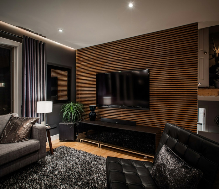 Awesome Wohnzimmer Rustikal Modern Images - House Design Ideas ...