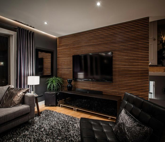 wohnzimmer modern : holzbalken wohnzimmer modern ~ inspirierende, Deko ideen