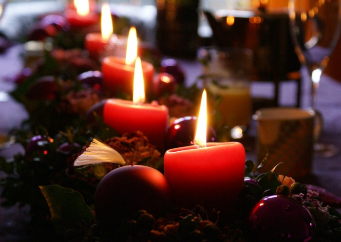 wunderschöne-Tischdekoration-Weihnachten-deko-ideen