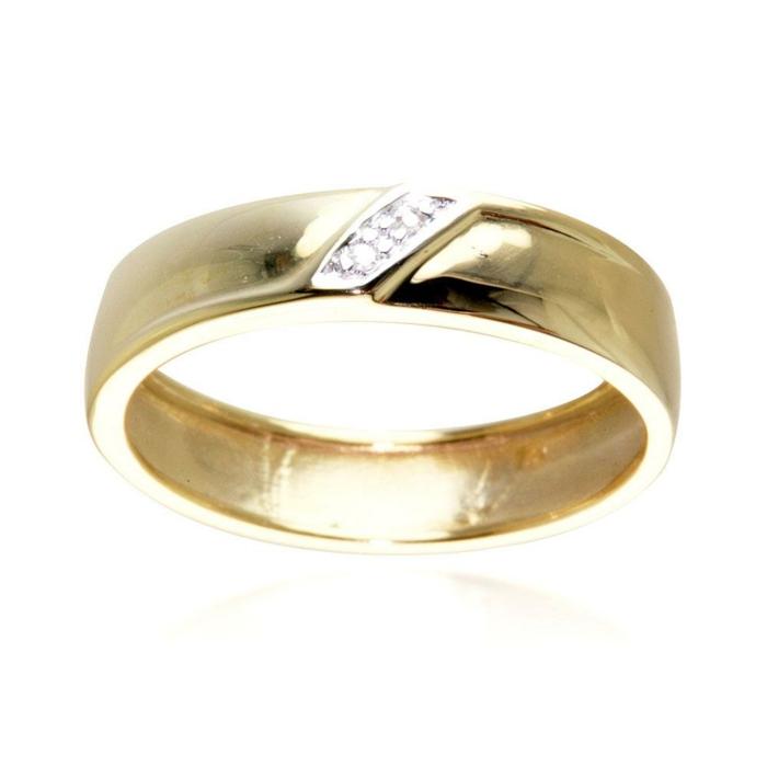 34-schönes-Modell-Ehering-Frauen-gold-Diamanten