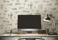 42 wunderschöne Design Ideen mit vintage Tapeten