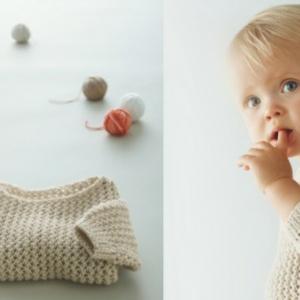 Baby Pullover stricken - tolle Ideen und Muster