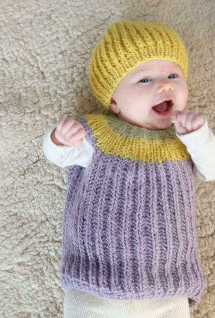 baby pullover stricken tolle ideen und muster. Black Bedroom Furniture Sets. Home Design Ideas