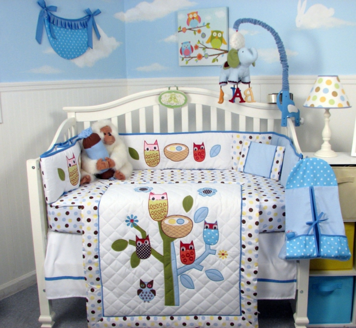 44 fantastische baby bettw sche designs for Babyzimmer himmel