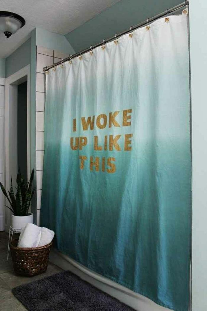 Badezimmer-Deko-Ideen-Vorhang-lustiger-Spruch
