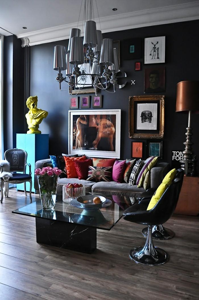 cooles bild wohnzimmer:Bilder-fürs-wohnzimmer-modern-abstrakt-extravagant-cooles-elegantes