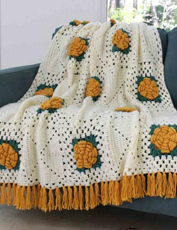 43 Stilvolle Modelle Decken Zum Häkeln Archzinenet