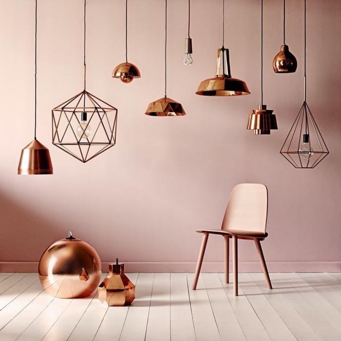 Designer Leuchten Aus Kupfer Verschiedene Formen Modern Attraktiv