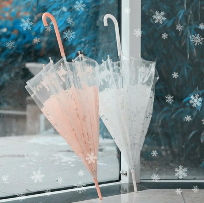 Durchsichtiger-Regenschirm-beige-weiss