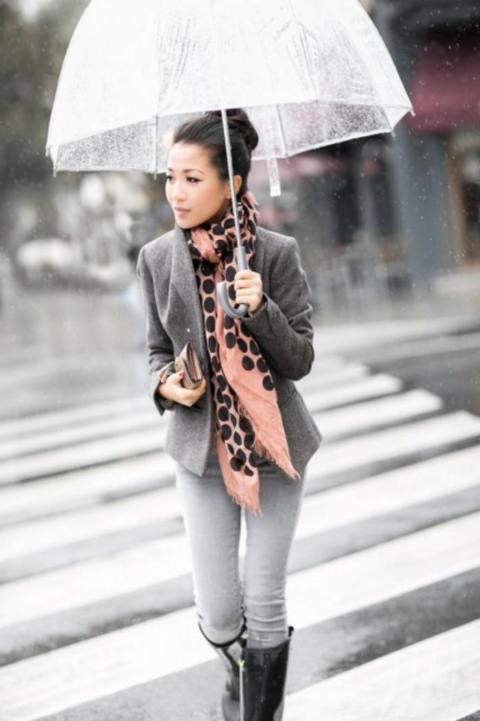 Durchsichtiger-Regenschirm-dame-mit-grauem-sakko