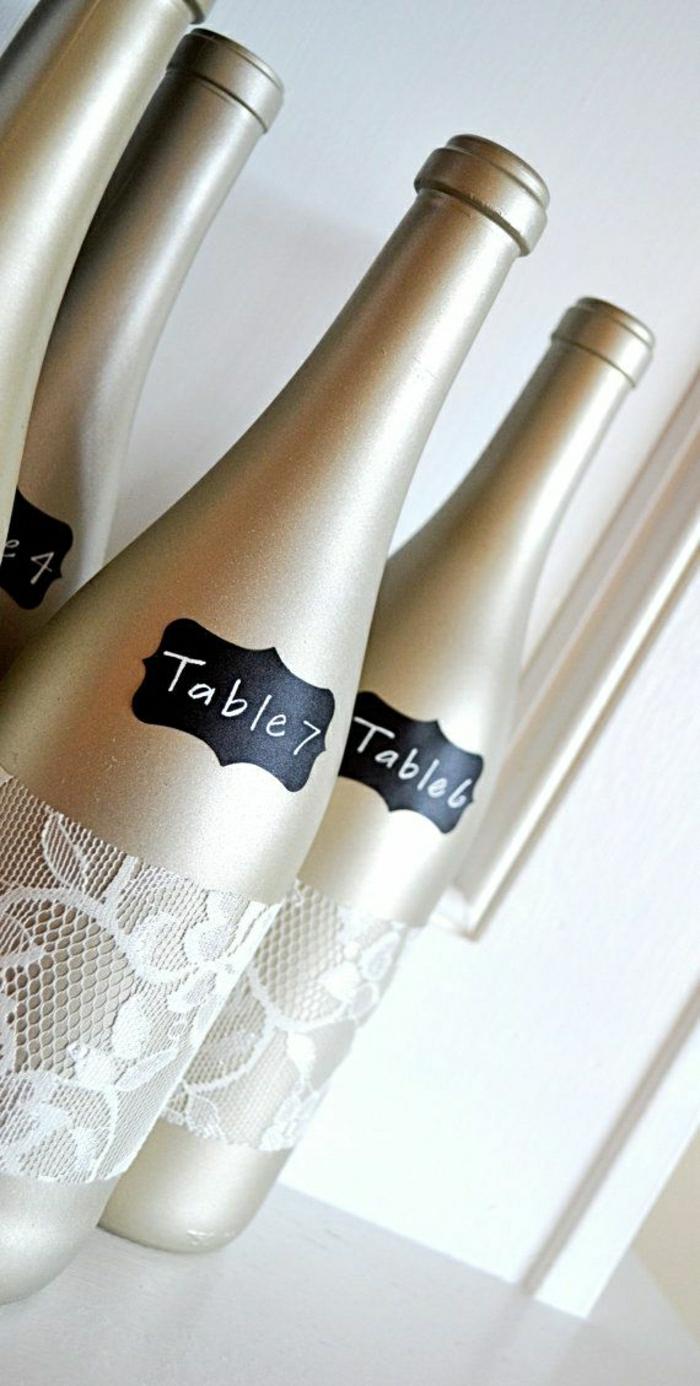 Flaschenetiketten-drucken-Champagne-Hochzeit-goldene-Verpackung-Spitze-elegante-Idee